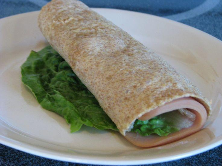 "Trim Healthy Mama {Homemade Gluten-Free, Low-Carb Wrap - ""S""} - Sheri Graham"