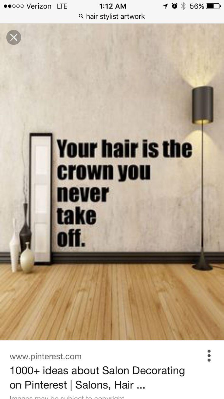 27 best salon decor ideas images on Pinterest | Salons decor, Barber ...