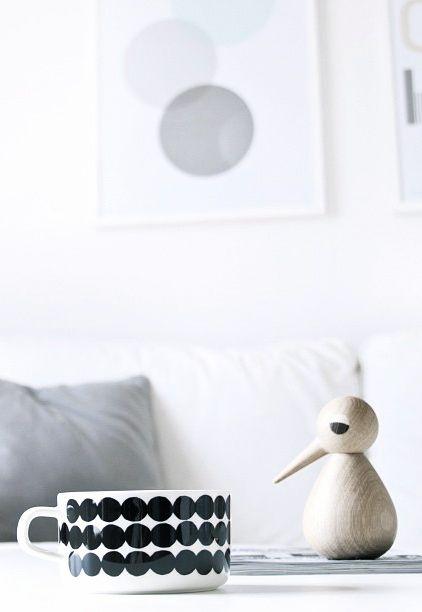 Via Lillekarii   Architectmade Vedel Bird   Marimekko Mug