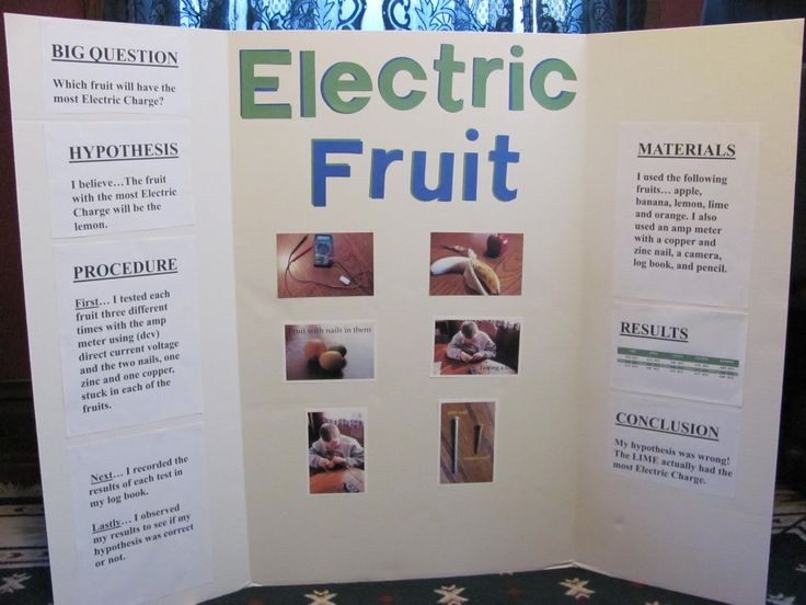 science fair projects | He estimated the Lemon would, but actually the Lime did.