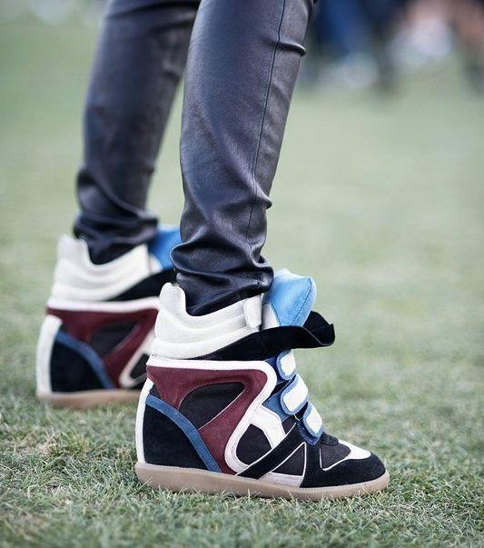Sneakers con la zeppa - Wedge sneakers