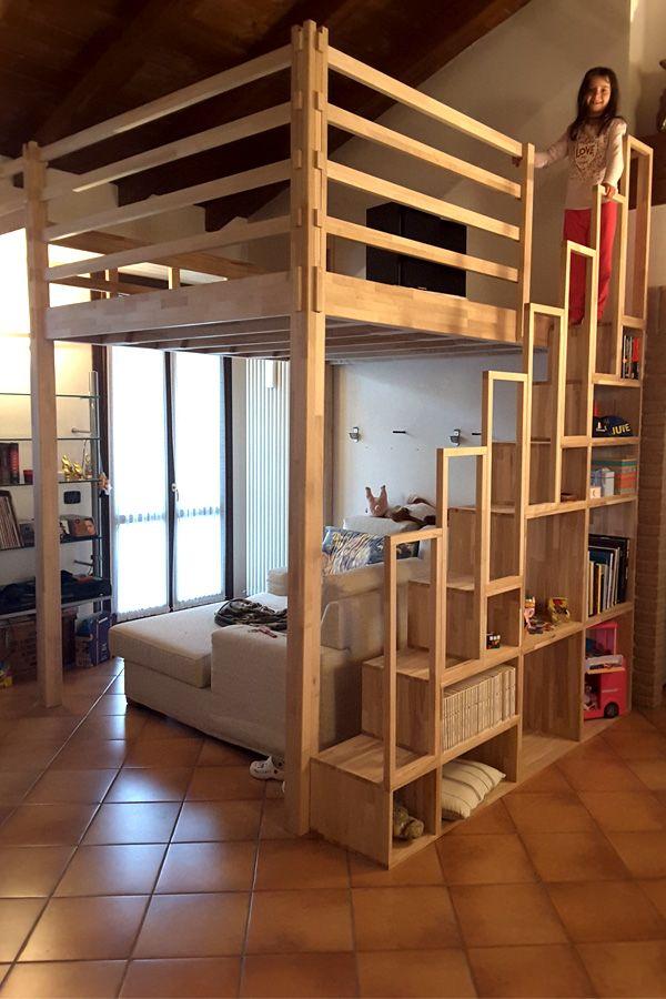 Oltre 25 fantastiche idee su camera da letto a soppalco su - Idee soppalco camera da letto ...