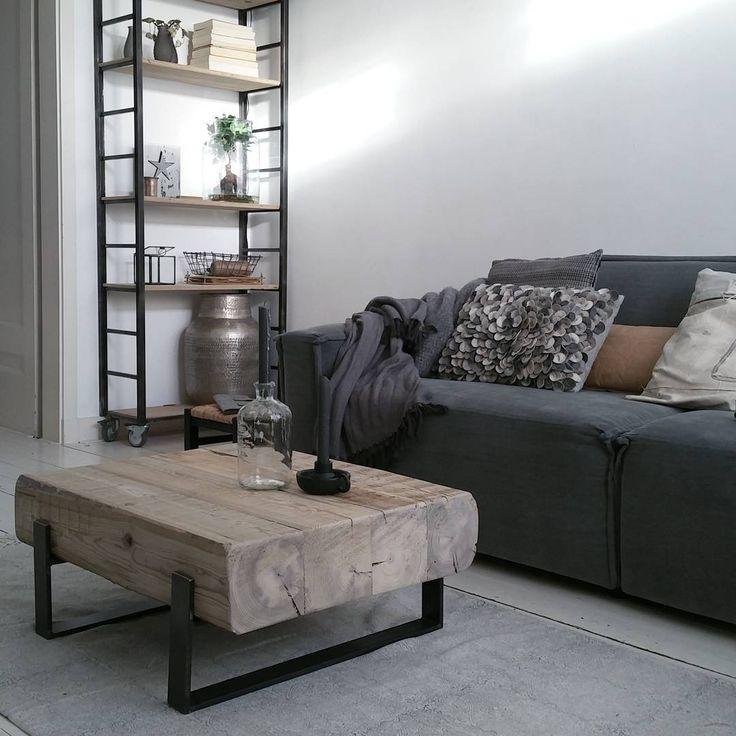 25 beste idee n over industri le salontafels op pinterest pijp meubels en industrieel meubilair - Ontwikkel een kleine woonkamer ...