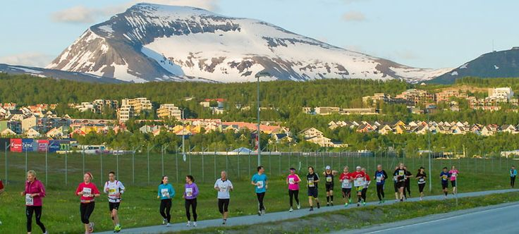 Norway's Midnight Sun Marathon. The world's northernmost marathon attracts runners from over 50 nations who compete at night, but in broad daylight – courtesy of the midnight sun, which doesn't set in this part of Arctic Norway from mid-May to mid-July. The marathon itself is the main event, but there is also a half-marathon, a 10-kilometer race, a 4.2-kilometer fun-run, and a children's race.