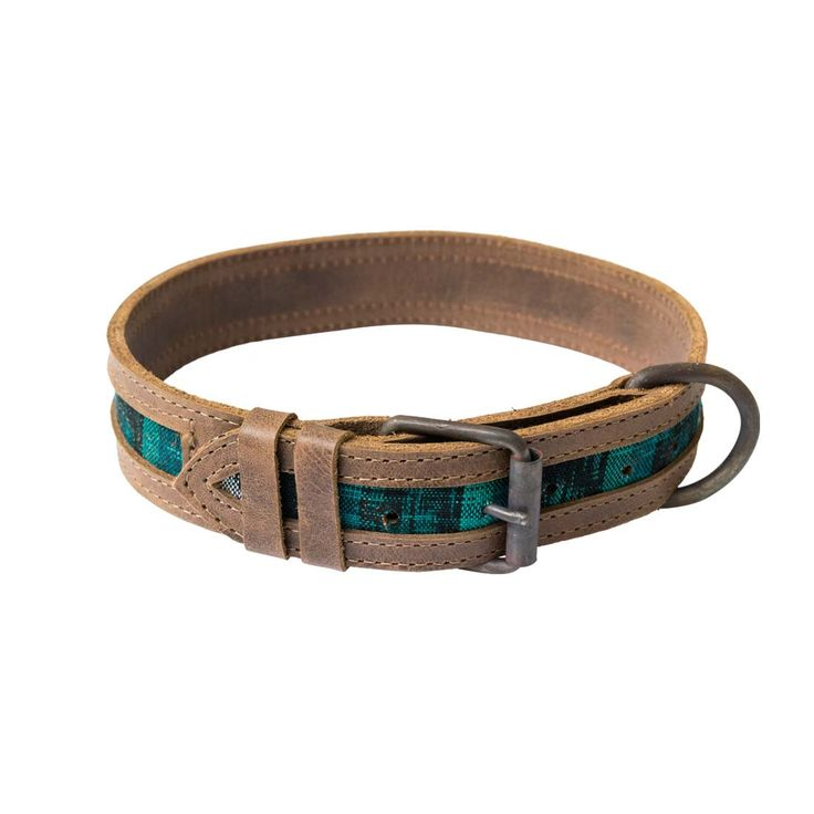 Handmade from Mayan Típico Textiles and Rustic Full Grain Leather Durable Design; Double-Stitched, Double-Layered Rustic Metal Hardware Appearance Improves with Age and Usage Fits Medium and Large Siz