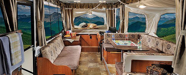 Rockwood Pop Up Campers >> Whaaat? this is a pop up camper? great job! Rockwood Tent ...