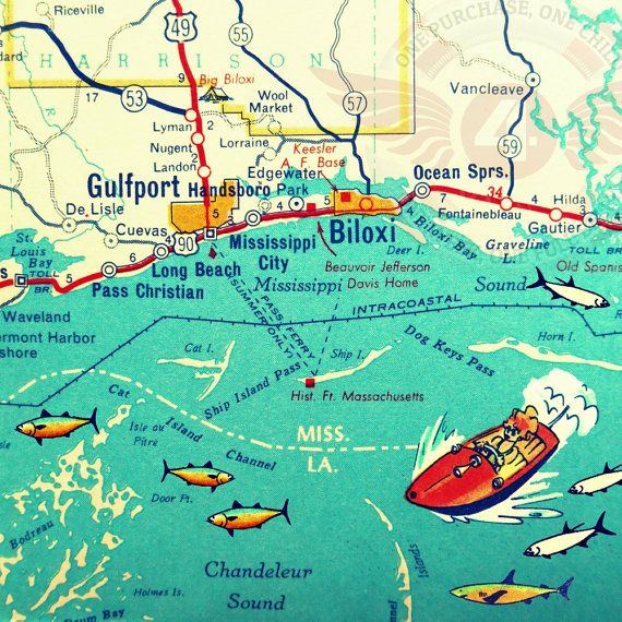 Live Oak Island Florida Map