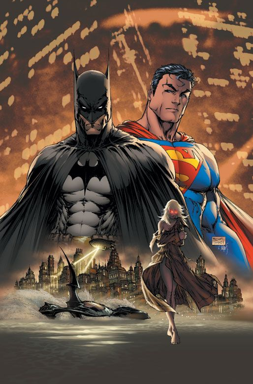 SUPERMAN/BATMAN - Add Wonder Woman and this picture would be outstanding!....Even though it already is.