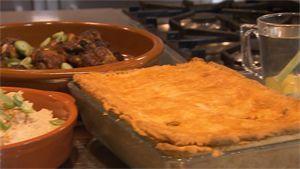 Recept: surinaamse pastei met rijst en kippetjes uit de oven