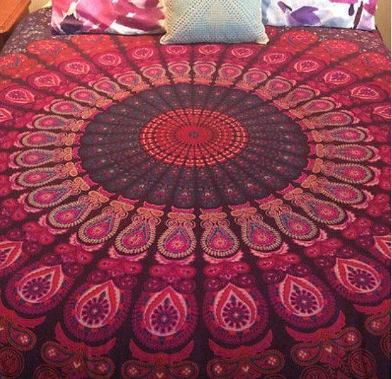 Beautiful Mandala Tapestry by ColeConscious on Etsy