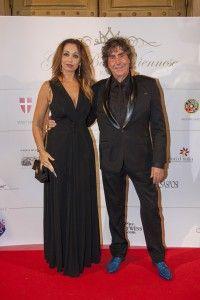 Stefano D'Orazio e Tiziana Giardoni al ballo delle debuttanti 2015