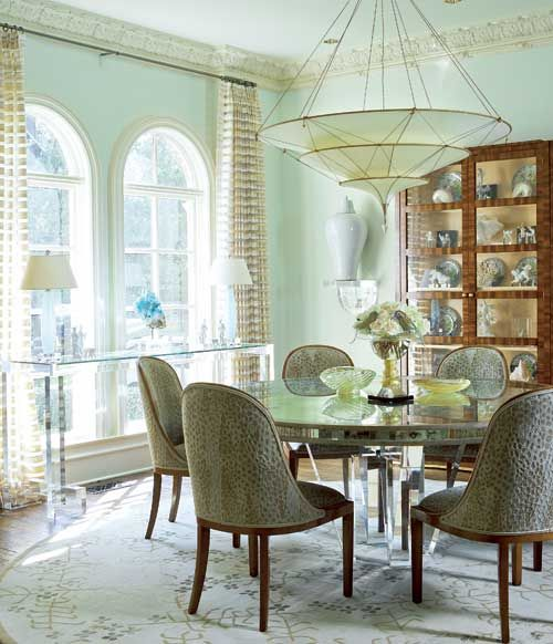 Beautiful Gorgeous Dining Room With A Dramatic Chandelier From Odegard   Traditional  Home® Good Looking