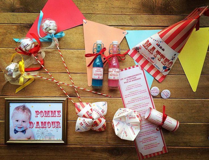 Dragée thème fête foraine : Jeux, jouets par feeline-creation