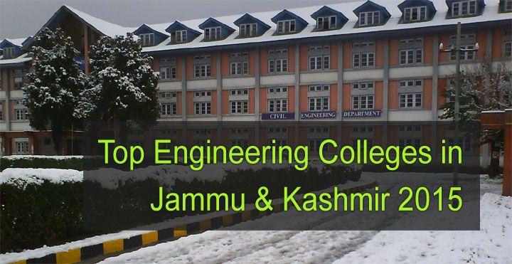 top engineering colleges in jammu kashmir 2015