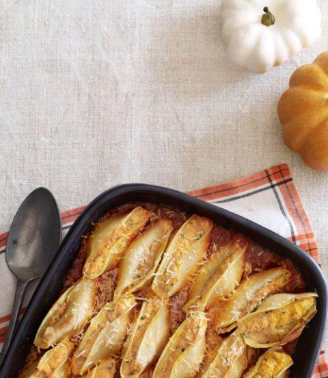 Pumpkin-Ricotta Stuffed Shells