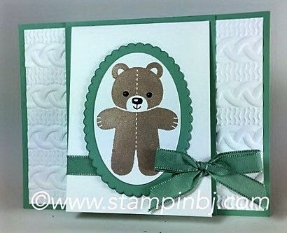 Cookie Cutter Christmas bear, Cable Knit EF, oval framelits