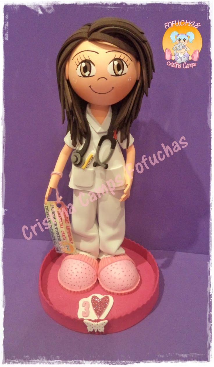 Cristina Camps Fofuchas: Fofucha enfermera 2