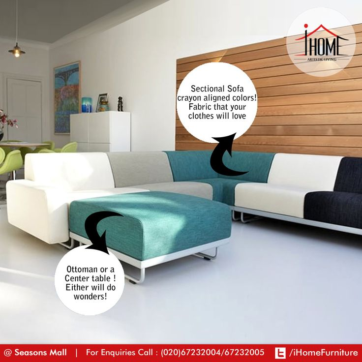 Flexsteel Sofa Artist with an obsession for colors Now how would they stay away from the Modular SofaPut