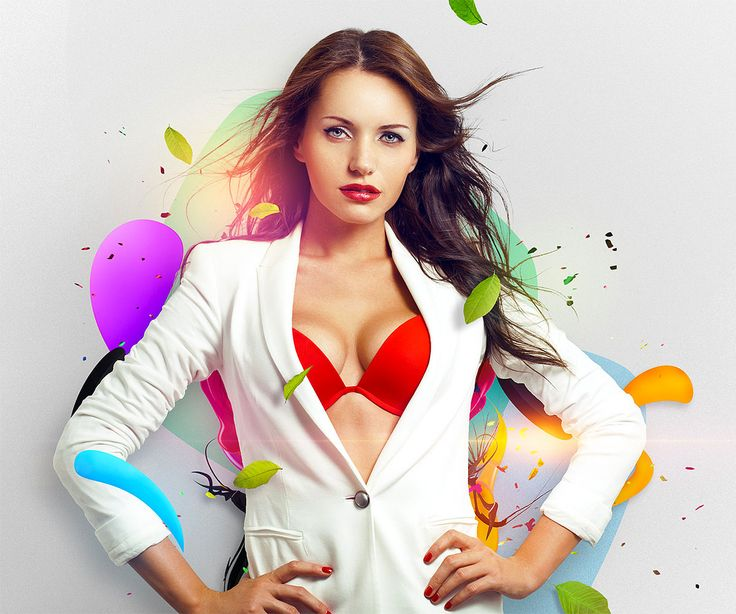 Create a colorful wallpaper in Photoshop
