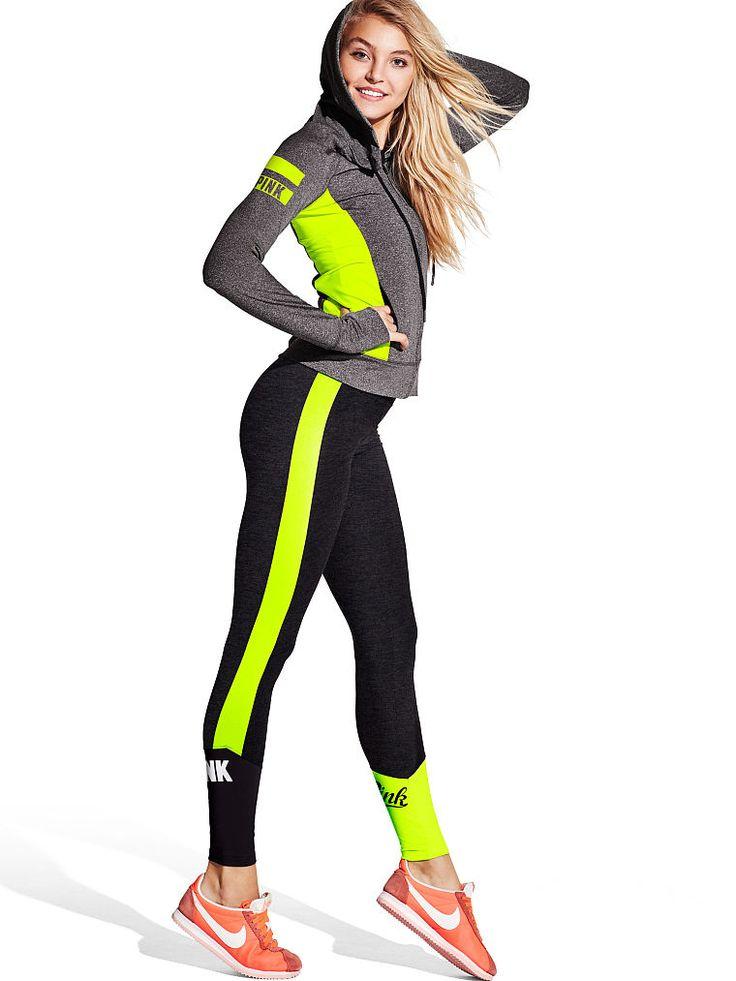 Ultimate Full-Zip Hoodie - PINK - Victoria's Secret SHOP @ FitnessApparelExpress.com