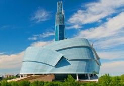 Explore the new and iconic Canadian Museum for Human rights with two gallery admissions, 2 guided gallery tours and $75 to Era Bistro in the museum Win your Winnipeg adventure including flight, hotel and an adventure YOU choose! Visit http://www.tourismwinnipeg.com/pin-and-winnipeg to enter!