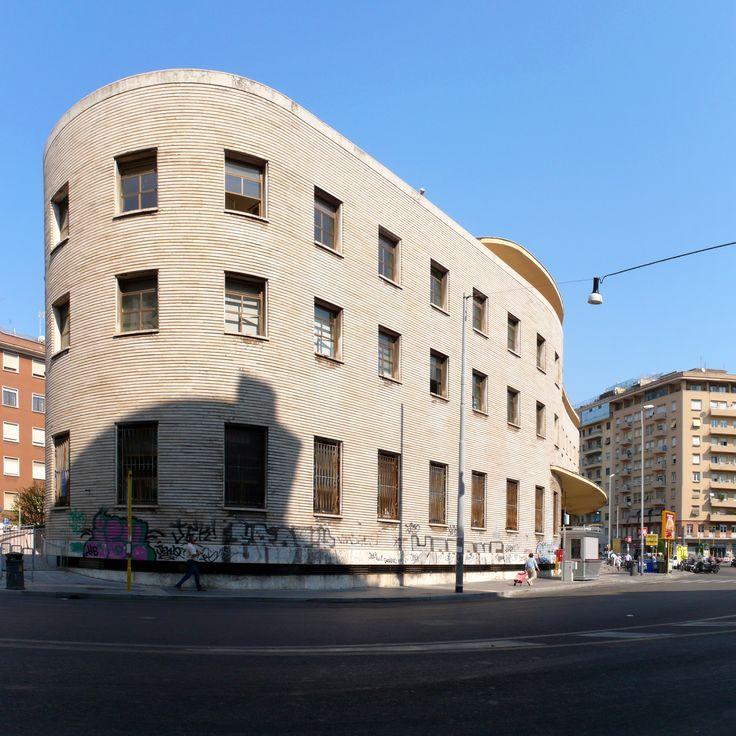 IT, Roma, Post Office @Piazza Bologna. Architects Mario Ridolfi and Mario…