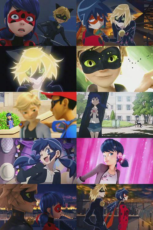 Tomando en cuenta que no he podido encontrar nisiquiera he podido encontrar el primer episodio de la versión en anime y que lo que he visto en imágenes me parece que Adrien es un amargado prefiero la versión en 3D ~ Señorita Neko -Humilde opinión