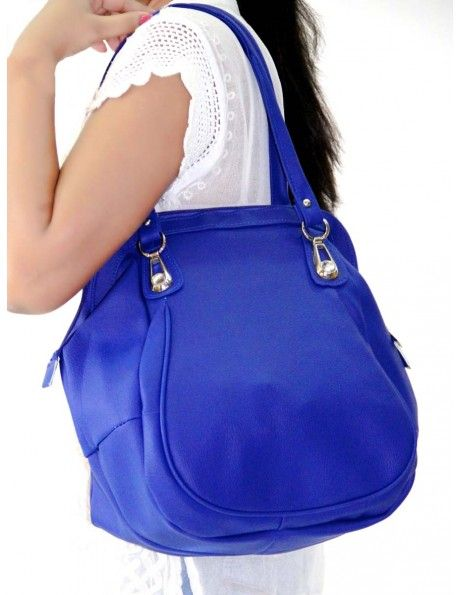 Buy Delightful Leather Blue Bag Online. http://www.bharatplaza.com/new-arrivals/accessories.html