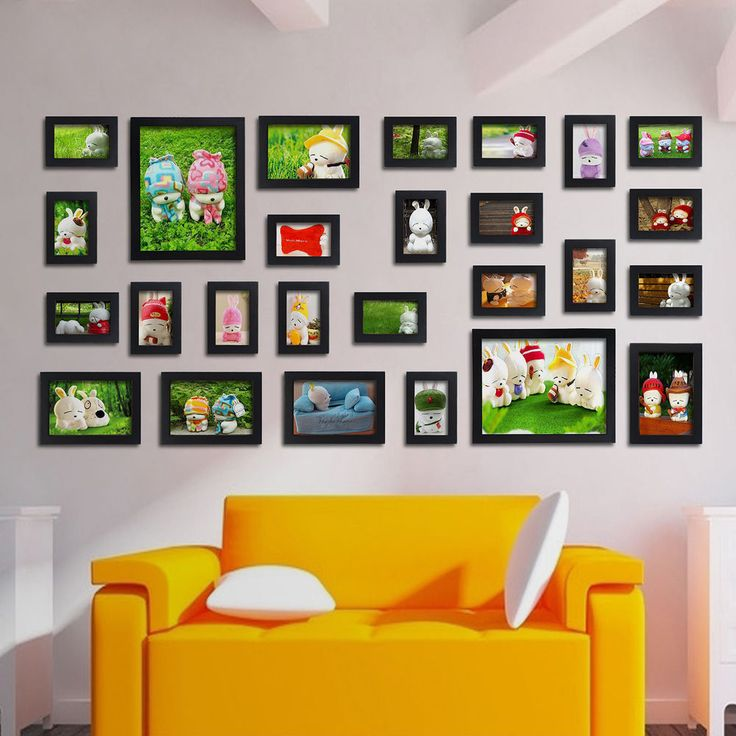 22 best photo frame images on pinterest multi picture for Multi frame wall art