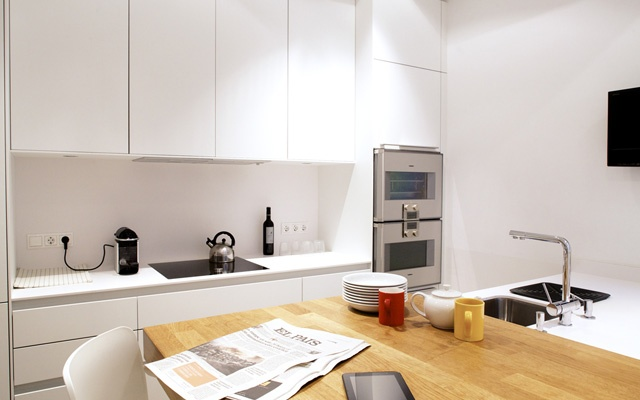 bulthaup kitchen in an apartment in Barcelona | Greek Barcelona