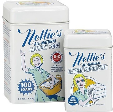 Nellies Laundry Soda and Oxygen Brightener Set modern laundry products