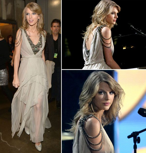taylor swift grammys 2014. I love the way her hair looked during that performance- before the crazy hair flipping went down.