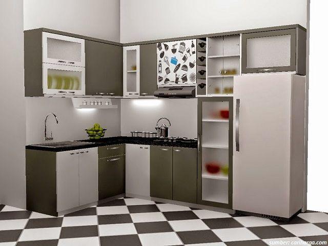 Gambar Design Interior Rumah Amerika  35 gambar desain dapur minimalis ukuran 2x3 paling disukai