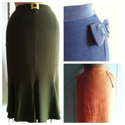 3 Skirts to Draft Tutorial. 1930's, 1940's and 1950's Styles!