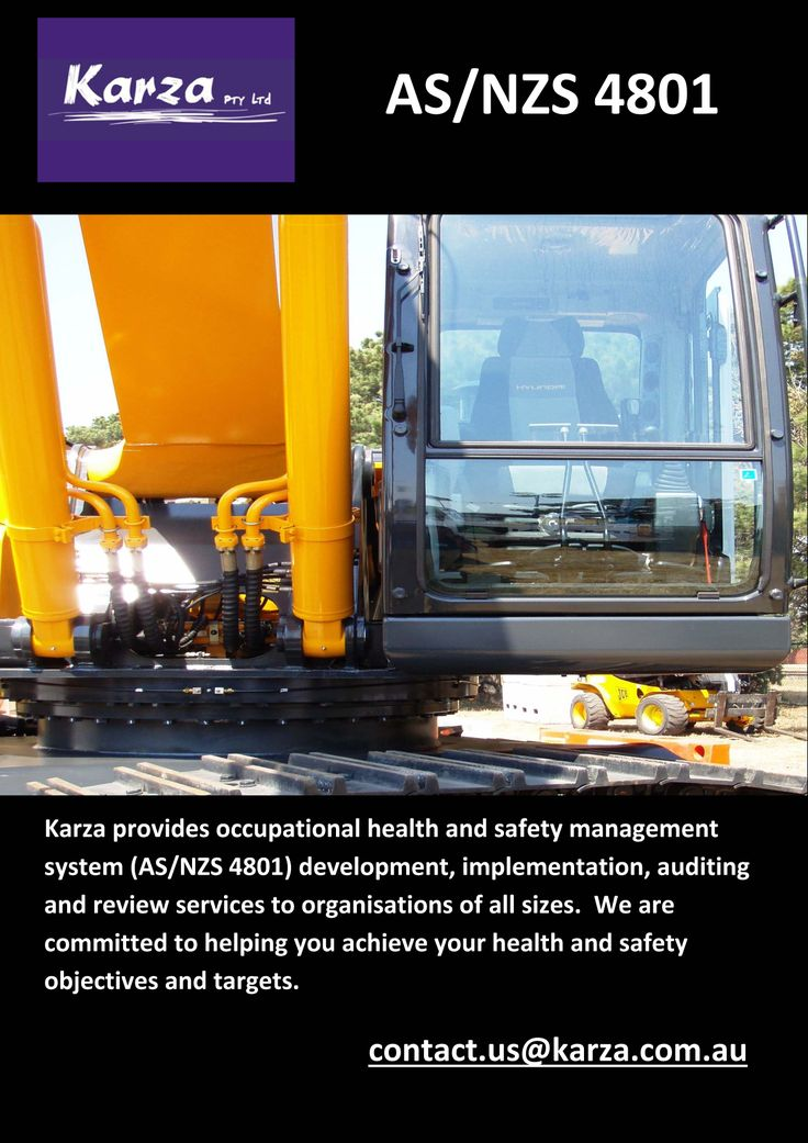 Karza provides AS/NZS4801 support