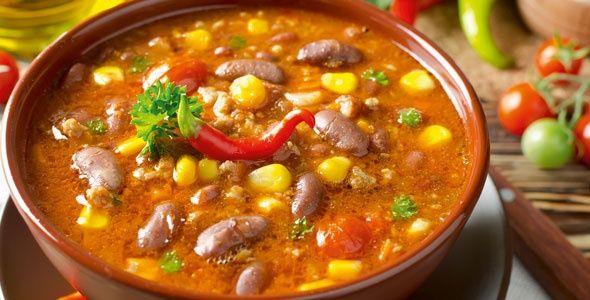 Rezept: Mexikanische Suppe - Chili sin Carne