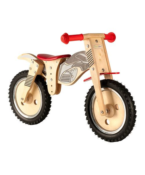 The Smart Balance Bike is the most effective, fun and safe way for toddlers to learn to ride! It's a unique method to practice the techniques needed to ride a bicycle: balance and motor skills. There are no pedals or training wheels—beginners simply sit and run or walk. If the bike begins to fall, they'll instinctively use their feet to regain balance. Once they feel comfortable, they can lift their feet and cruise along on the real rubber tires.