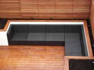 Built-in garden seating inspiration -- http://www.harringtonporter.com/blog/wp-content/uploads/Built-in-sofa1-300x224.jpg