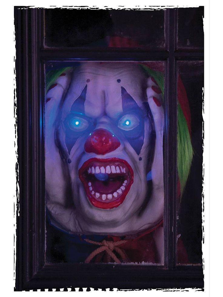 1000 ideas about halloween clown scary on pinterest for Clown dekoration