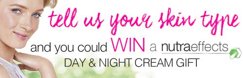 Hey there,I just entered to win a $30 valued nutraeffects day and night cream gift pack!You can enter too here -