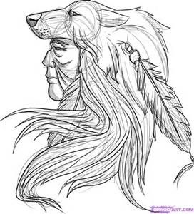 Indian Arrowhead Drawing Sketch Coloring Page