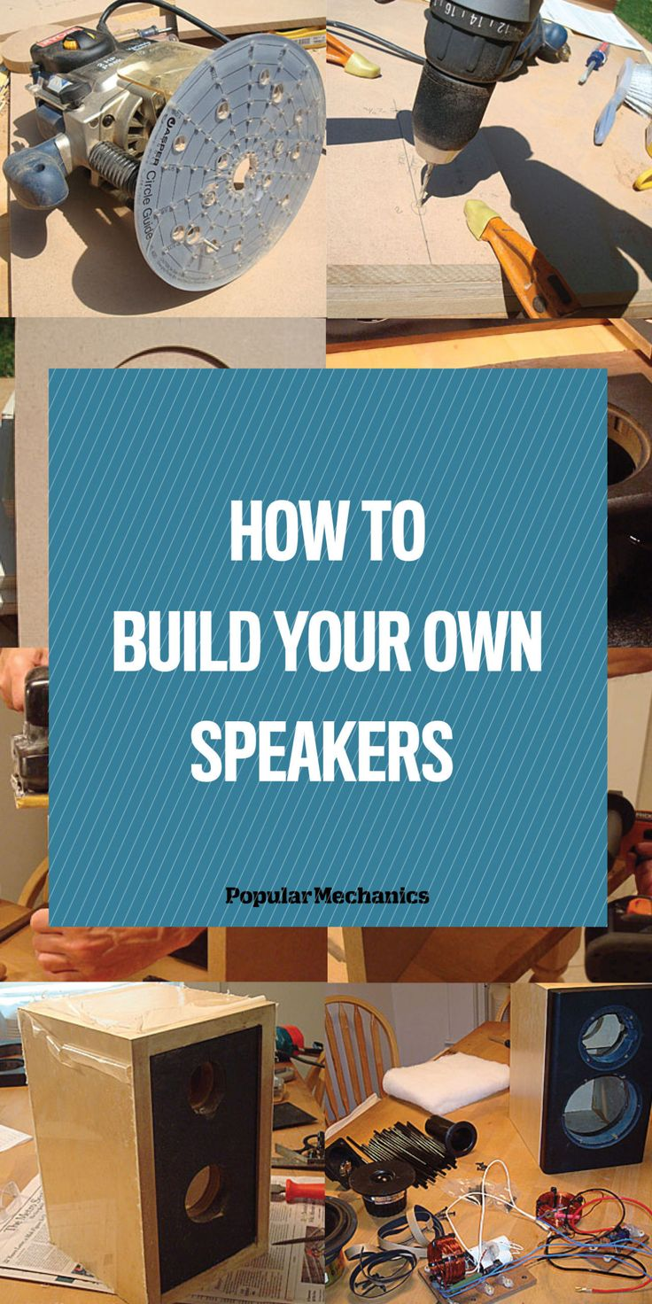 Skema box speaker woofer search results woodworking project ideas - How To Build Your Own Speakers The Right Way Diy