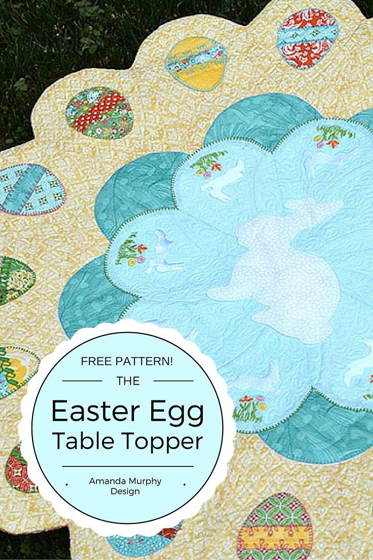 Httpblogamandamurphydesigncomeaster egg table topper