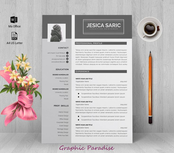 professional resume template instant download resume template resume template word resume writing
