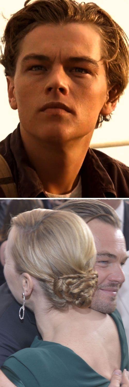Leonardo DiCaprio Kate Winslet SAG Awards Titanic Jack Dawson