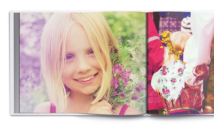 Skapa en #fotobok med alla dina midsommarminnen! http://www.onskefoto.se/produkter/fotobok