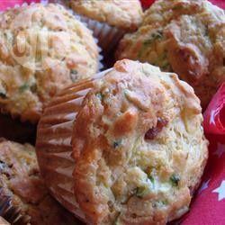 Savoury Cheese, Bacon and Zucchini Muffins recipe – All recipes Australia NZ