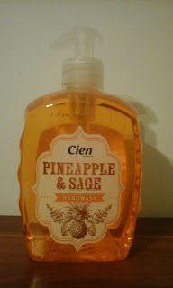 Cosmetics & Life: Review: Săpunul lichid Cien cu ananas și salvie