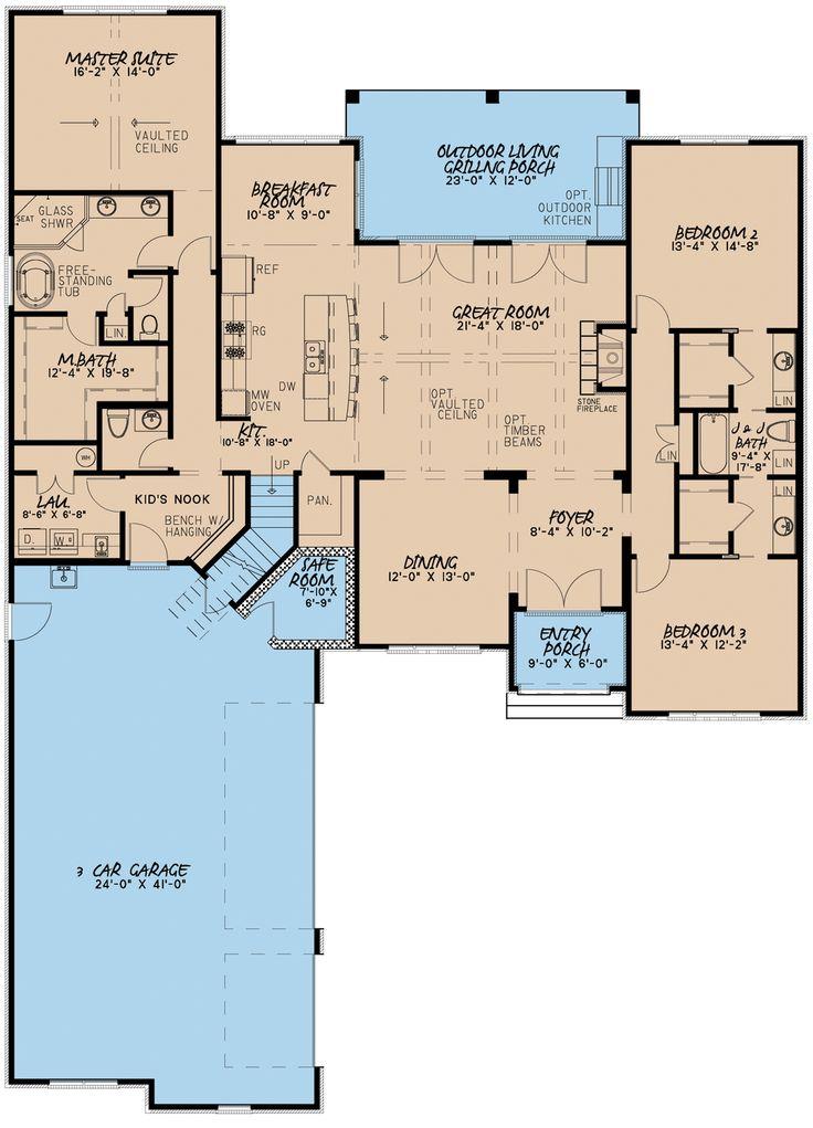 207 best Floor plans images on Pinterest Arquitetura, Dream home - best of blueprint country house
