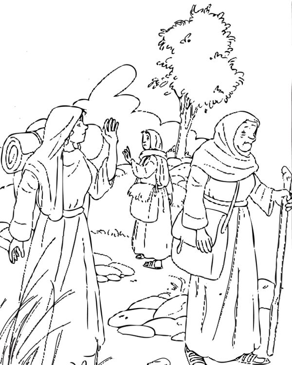 ruth gleaning coloring pages - photo#19